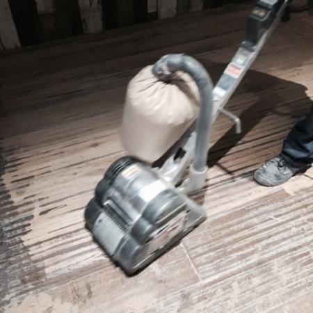 Floor sanding No 3