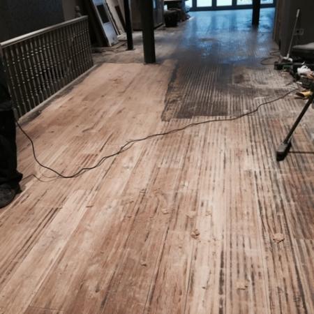 Floor sanding No 4
